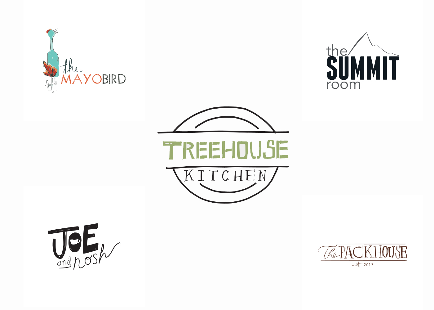 Tree House Kitchen Restaurants website designed by Bellaworks Web Design