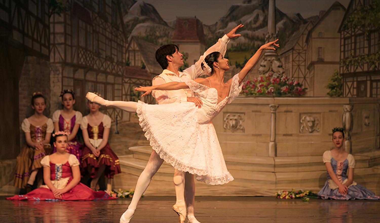 Charlotte youth Ballet website designed by Bellaworks Web Design