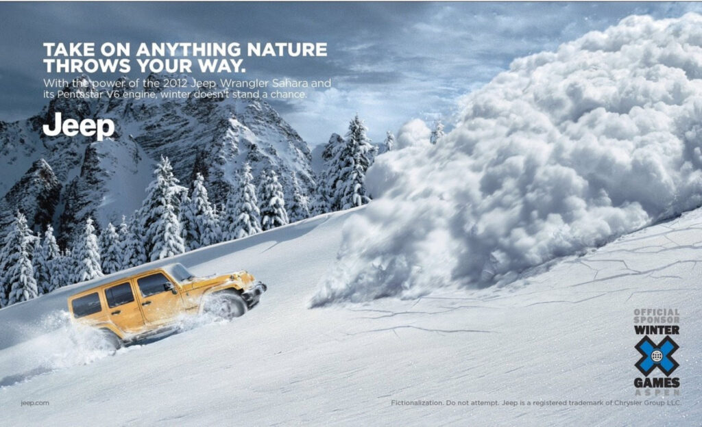 online Jeep ad